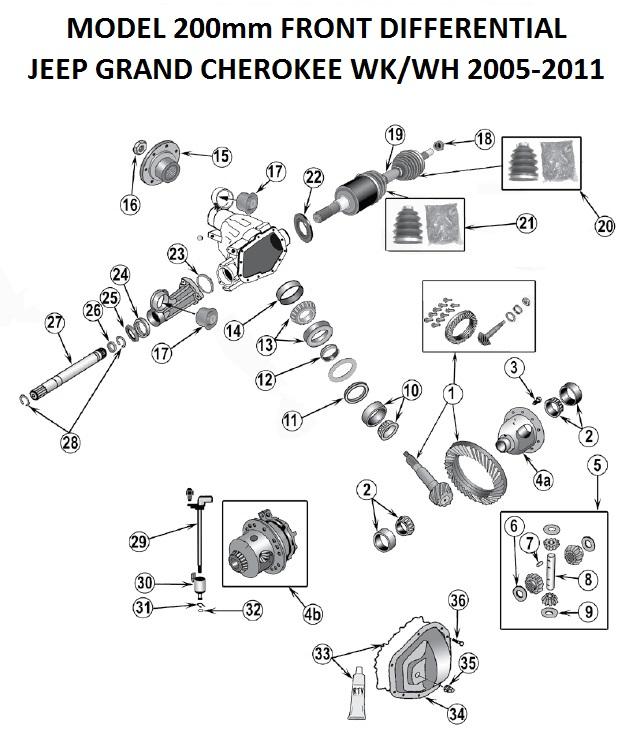 2005 Jeep Grand Cherokee Drivetrain Diagram - Wiring Diagram ... Jeep Grand Cherokee Front Lights Wiring Diagrams on